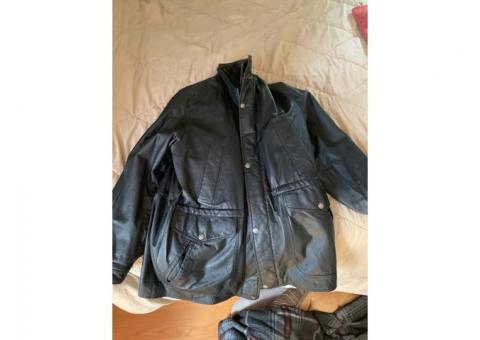 Wilson's leather jacket 3/4 length