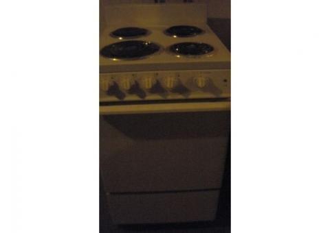 Crosley apartment size electric stove