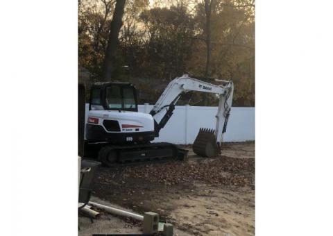Mini excavator Bobcat