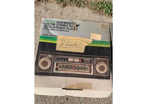 8 Track Stereo